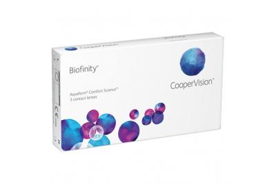 CooperVision Biofinity (3 линзы), 2 упаковки