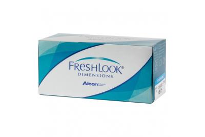 Линзы Freshlook Dimensions с диоптриями (6 шт)