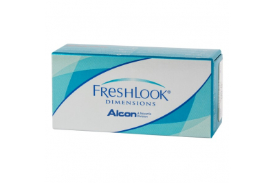 Линзы Freshlook Dimensions без диоптрий (2 линзы)