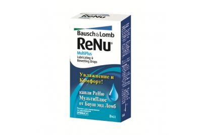 Капли Renu Multiplus Drops 8 мл