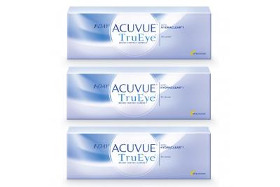 1-Day Acuvue TruEye (30 линз), 3 упаковки