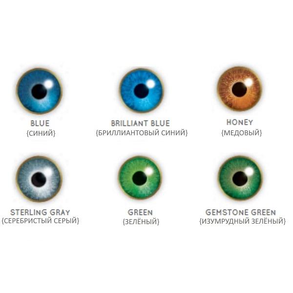 Линзы Air Optix Colors (2 линзы)