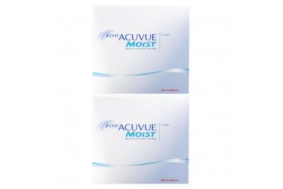 1-Day Acuvue Moist (90 шт), 2 упаковки