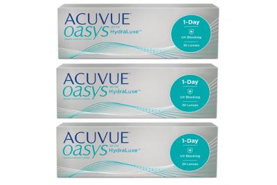Acuvue Oasys 1-Day (30 линз), 3 упаковки