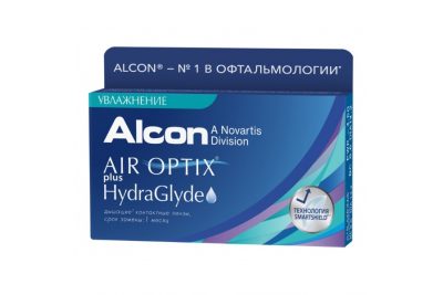 Air Optix Plus HydraGlyde (6 шт)