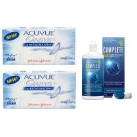 Acuvue Oasys for Astigmatism (6 линз), 2 упаковки с подарком