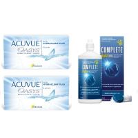 Acuvue OASYS with Hydraclear Plus (6 линз), 2 упаковки с подарком
