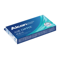 Air Optix Aqua (3 шт), 2 упаковки