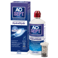 Раствор Aosept Plus HydraGlyde