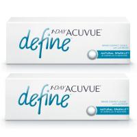1-Day Acuvue Define Естественный блеск (30 шт), 2 упаковки