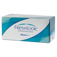 Линзы Freshlook Dimensions с диоптриями (6 линз)
