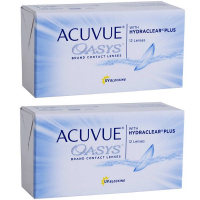 Acuvue OASYS with Hydraclear Plus (12 линз), 2 упаковки
