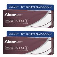 Dailies Total 1 (30 шт), 2 упаковки
