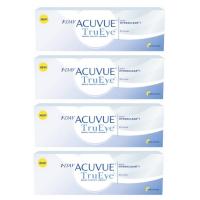 1-Day Acuvue TruEye (30 шт), 4 упаковки