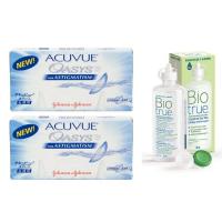 Acuvue Oasys for Astigmatism (6 шт), 2 уп. с раствором Biotrue (300 мл)