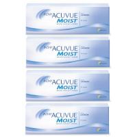 1-Day Acuvue Moist (30 шт), 4 упаковки