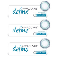 1-Day Acuvue Define Естественный блеск (30 шт), 3 упаковки