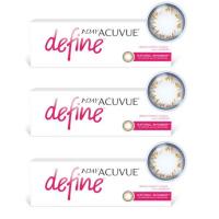 1-Day Acuvue Define Естественное сияние (30 шт), 3 упаковки