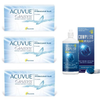 Acuvue OASYS with Hydraclear Plus (6 линз), 3 упаковки