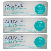Acuvue Oasys 1-Day (30 шт), 3 упаковки