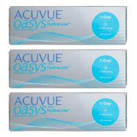 Acuvue Oasys 1-Day (30 шт), 3 упаковки по цене 2